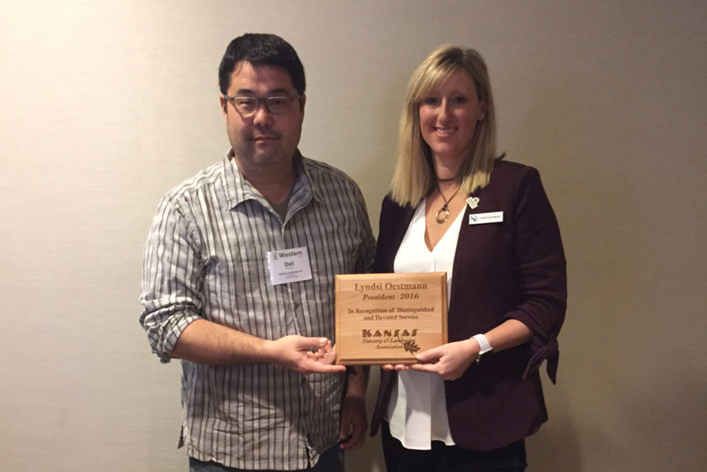 Recognition of Exiting Board Member; A big thanks to Lyndsi Oestmann for all that you have done for the association!