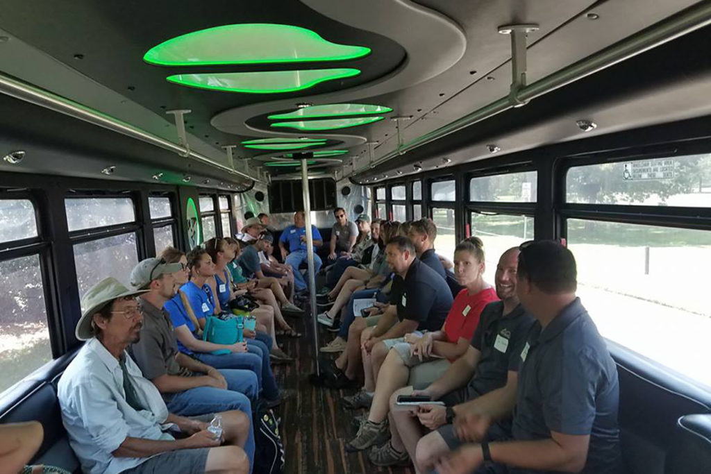 Summer Meeting Bus Tour; Had a great time in Wichita last year! Be sure to join us this year.